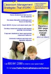 Classroom Management Strategies THAT WORK, June 2016 Brochure